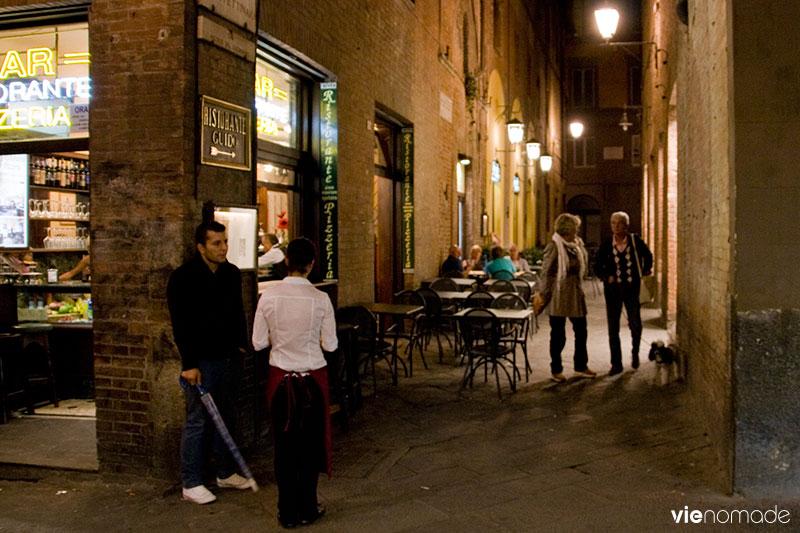 Voyage en Toscane: Sienne de nuit