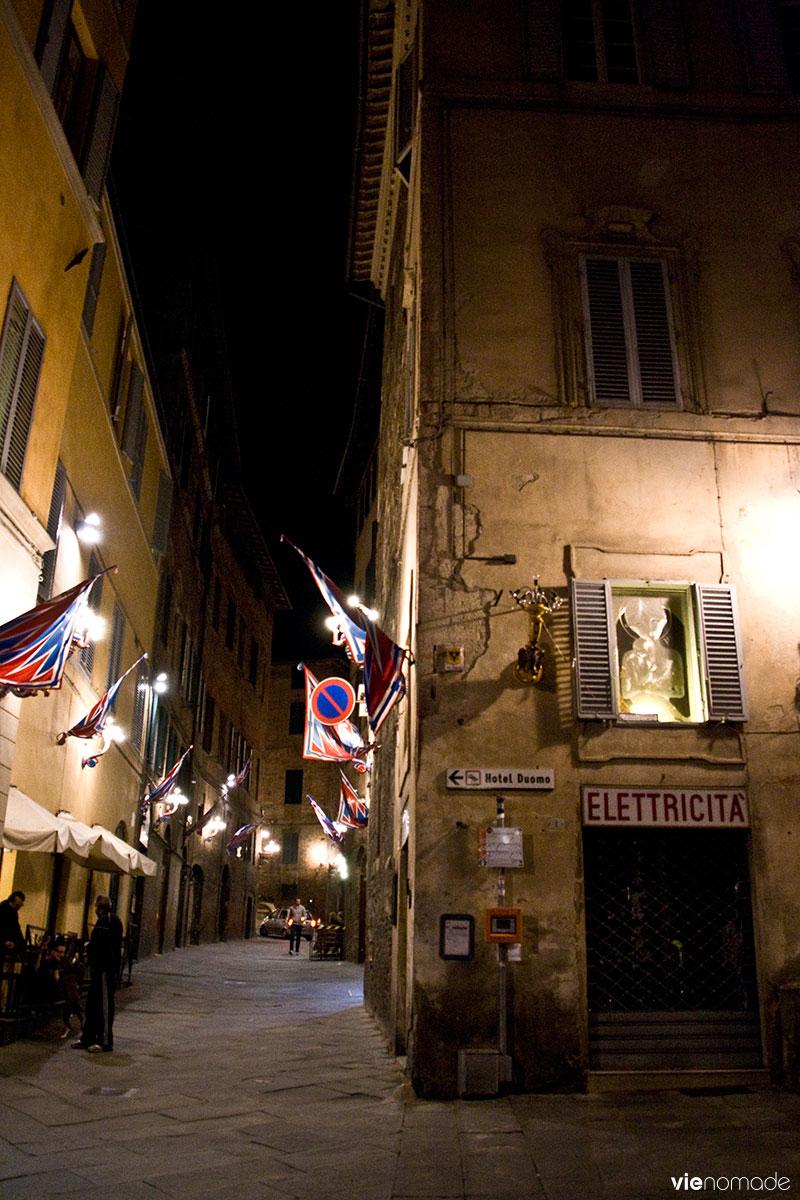 Sienne de nuit, Toscane