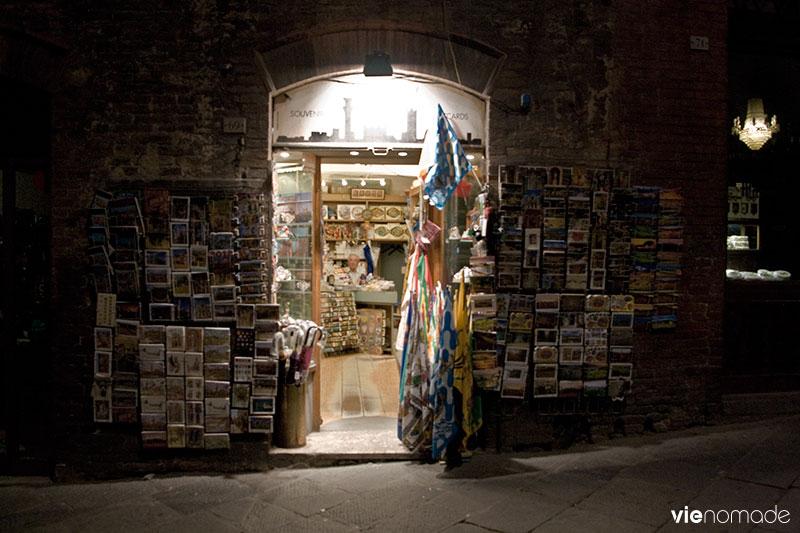 Sienne de nuit, Italie