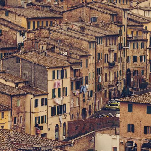 Sienne en Toscane, Italie
