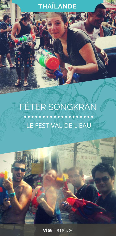 Sonkgran, le nouvel an thaïlandais