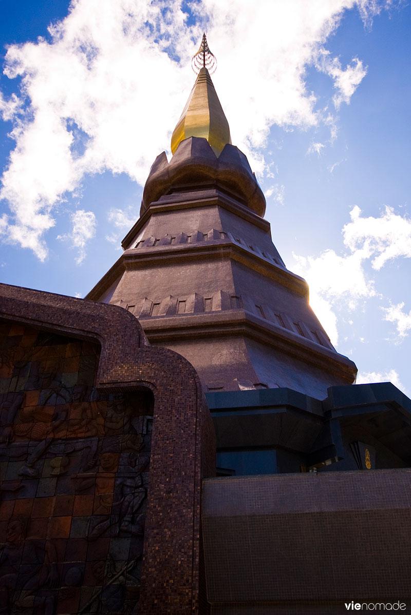 Temple de Doi Inthanon, sommet de la Thaïlande