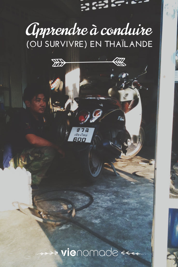 Conduire un scooter en Thaïlande