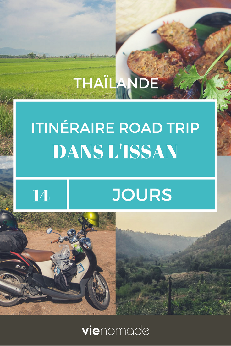Road trip dans le nord-est de la Thaïlande, dans l'Issan