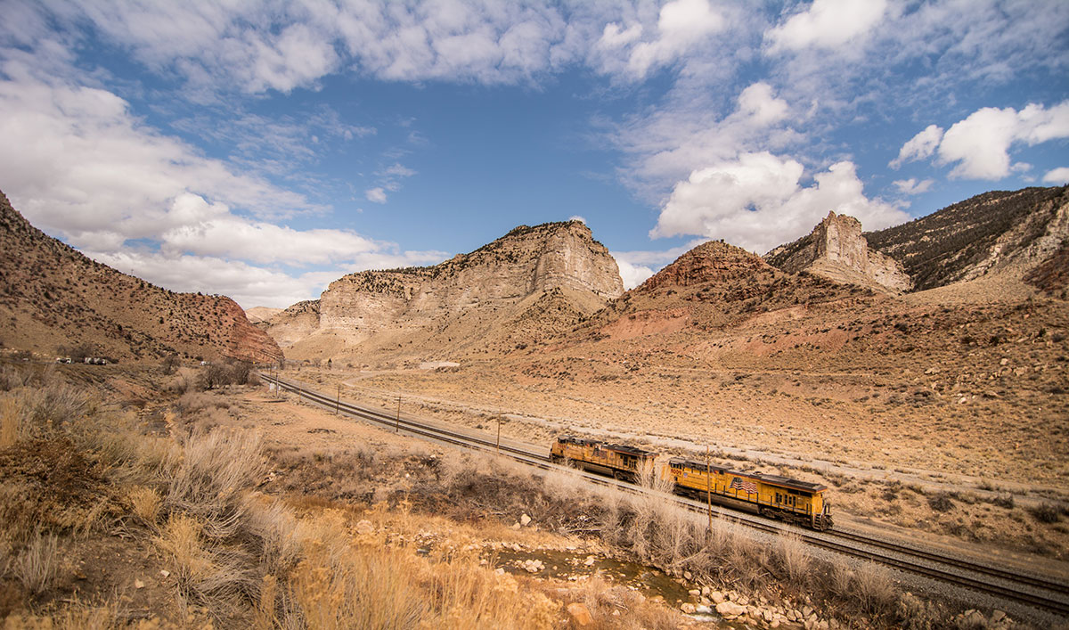 Le California Zephyr, en train à travers les USA