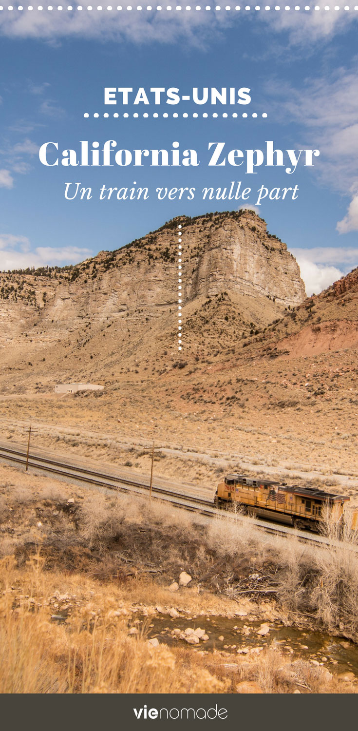Prendre le train aux Etats-Unis: le California Zephyr