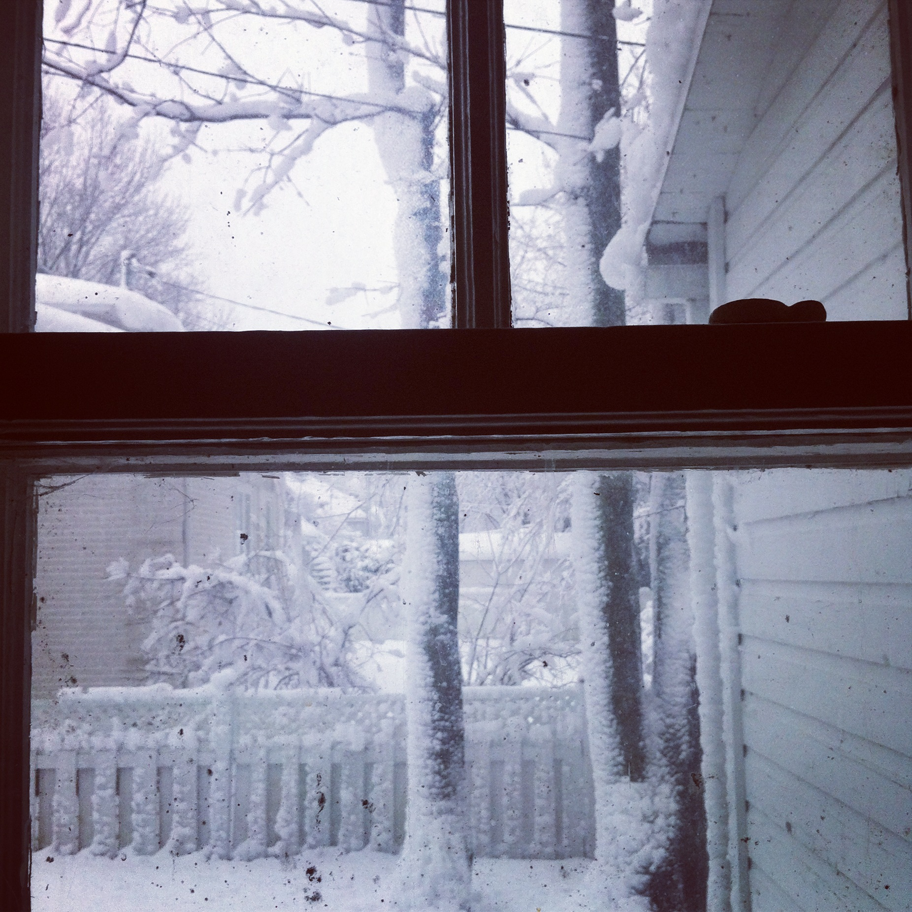 Québec, de la fenêtre