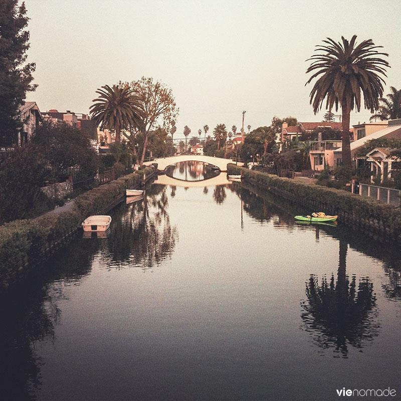Canaux de Venice, Californie