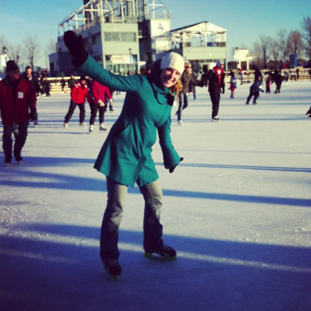 Patin à glace à Montréal