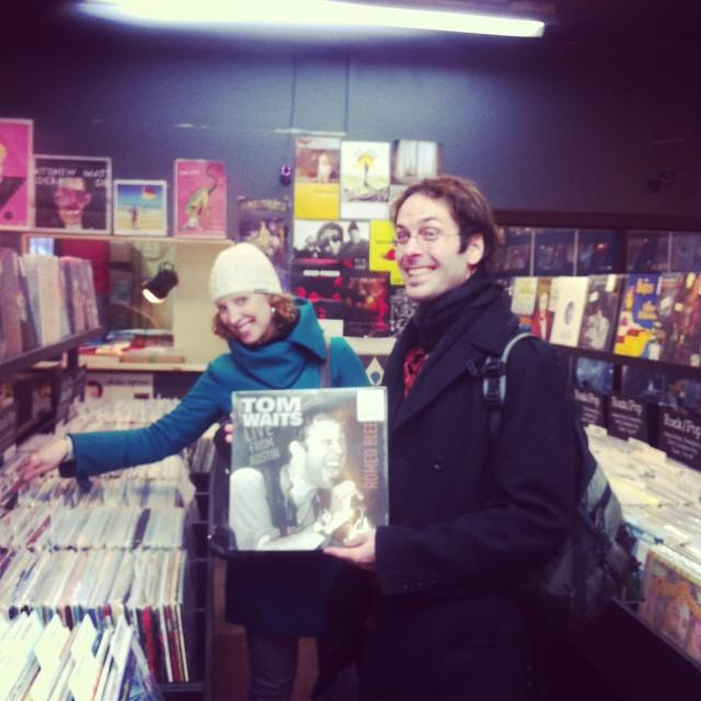Magasin de disques à Montréal