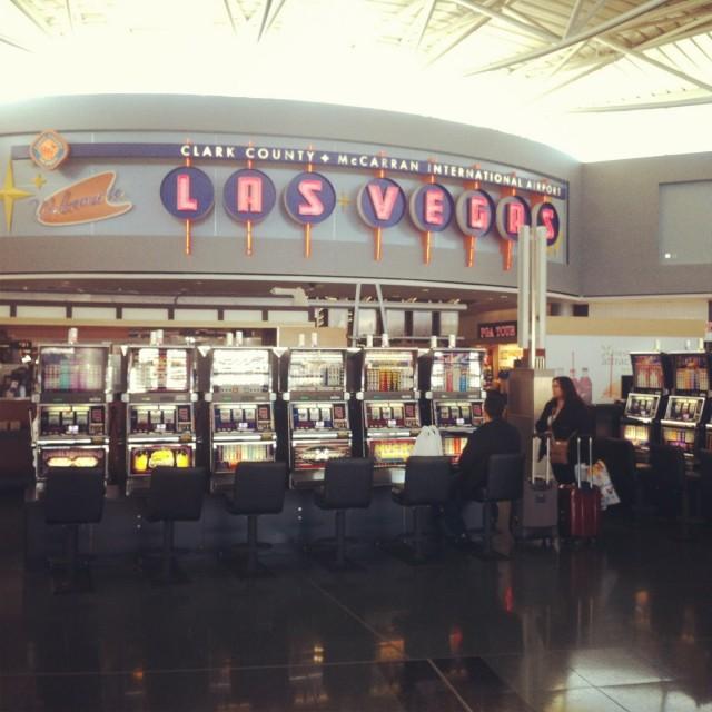 Machines à sous à Las Vegas
