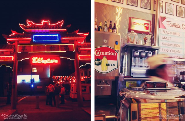Los Angeles: Chinatown and Diner