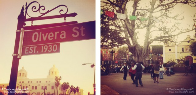 Los Angeles, Olvera Street