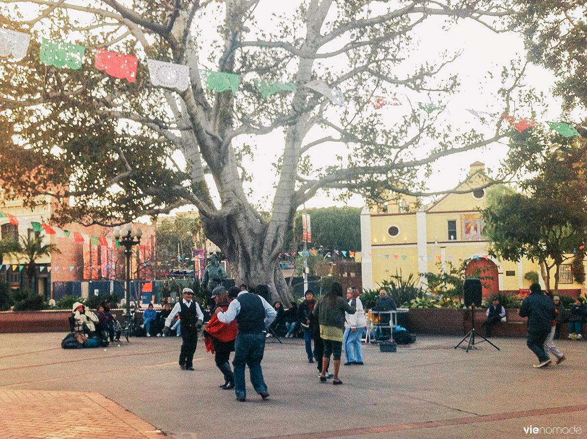 Olvera Street à Los Angeles
