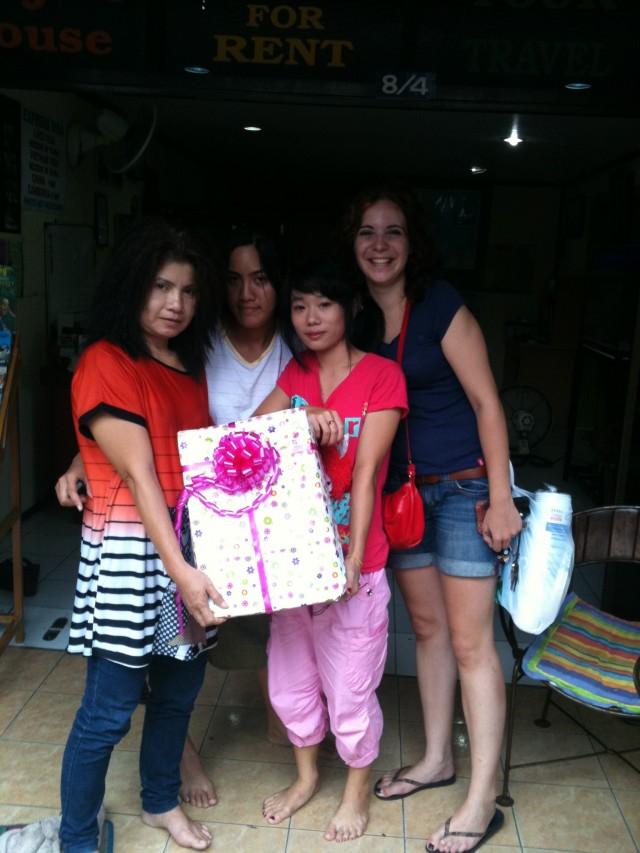 Un petit bout de ma famille thaï
