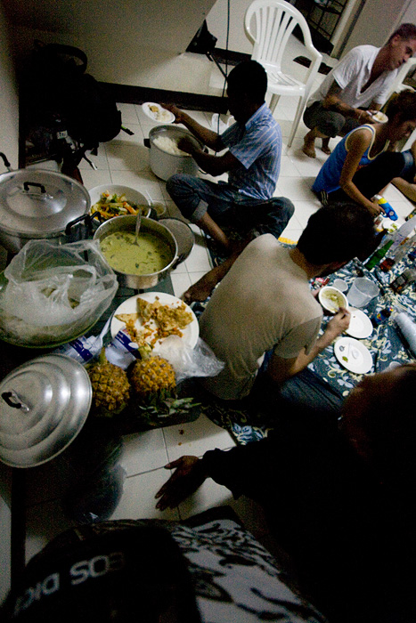 Bouffe thaï au rendez-vous ;)