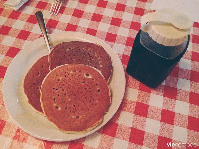 Pancakes, Cabane à sucre au Québec