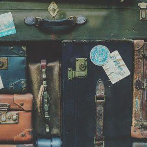 Poème pour une valise
