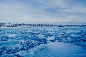 Le St-Laurent reprend ses droits, Québec