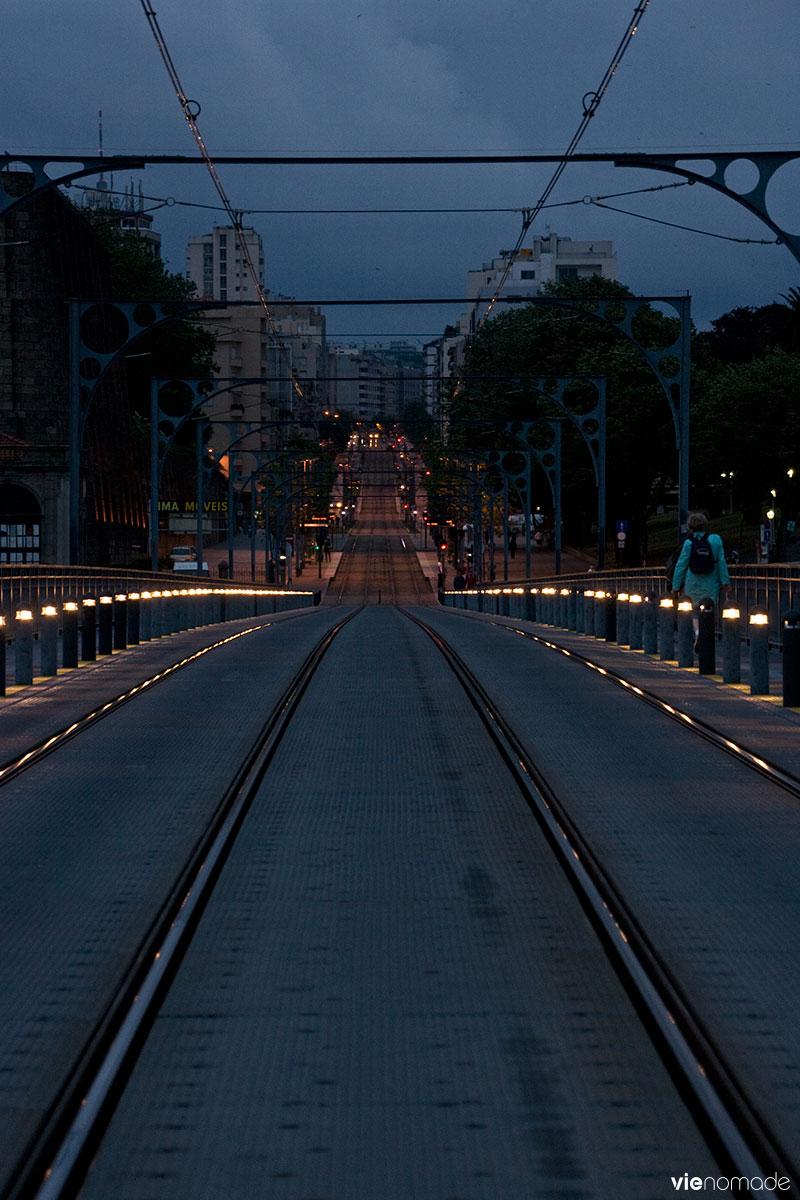 Ponte Dom Luis, sur la vieille ville de Porto.