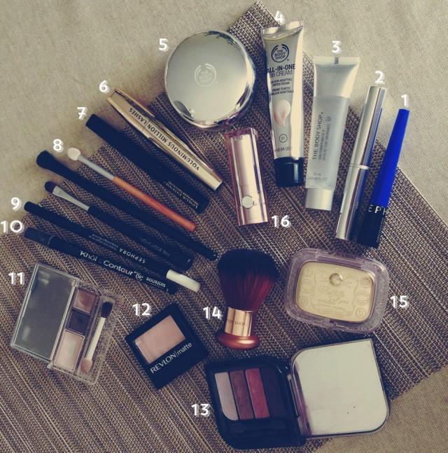 La trousse à maquillage nomade