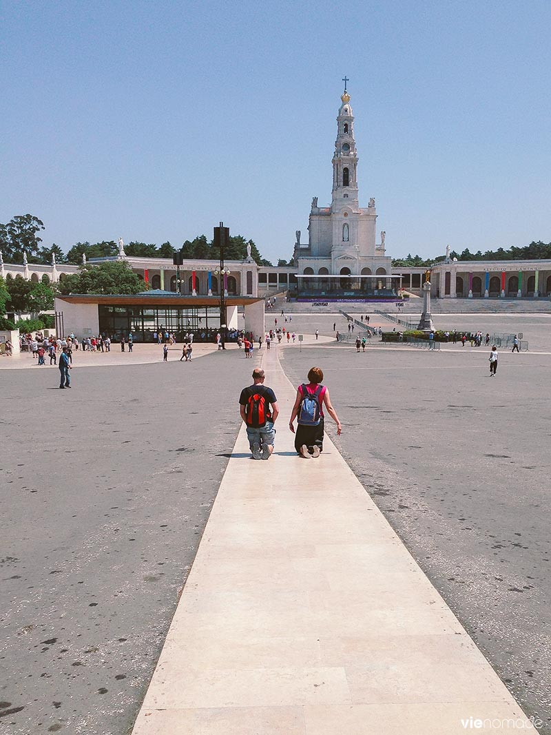Croyants à Fatima, Portugal