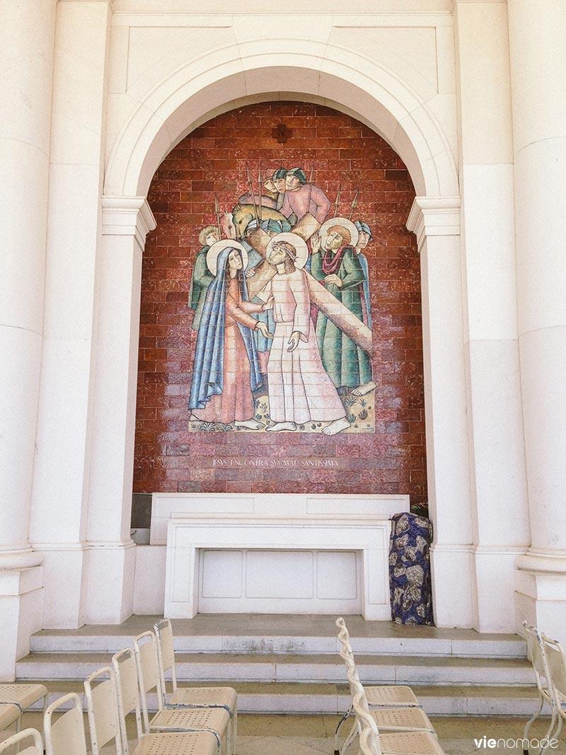 Fresque à Fatima, Portugal