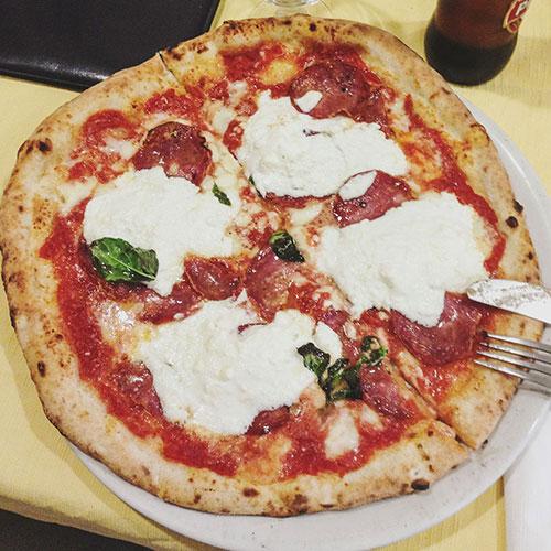 Manger à Naples