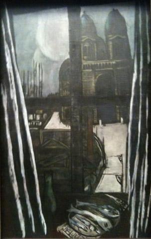 """Max Beckmann, """"Eglise à Marseille"""""""