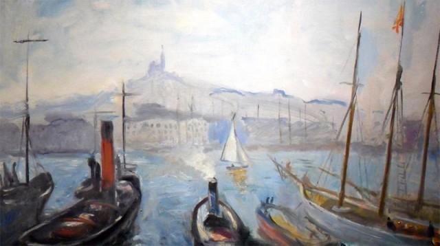 "Charles Camoin, ""Le Port de Marseille"""
