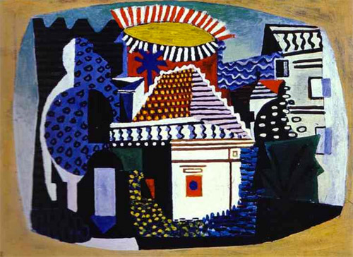 """Picasso, """"Juan-les-pins, été 1924"""""""