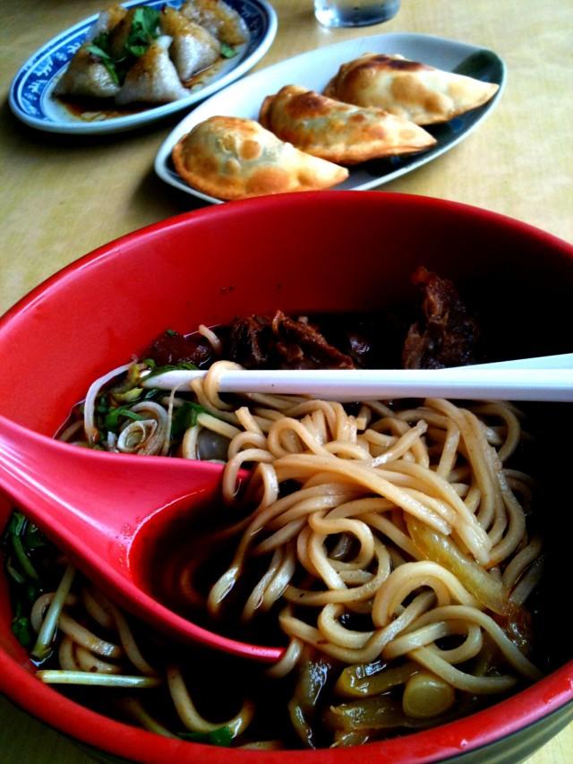 Un plat chinois dont je ne me souviens plus du nom...