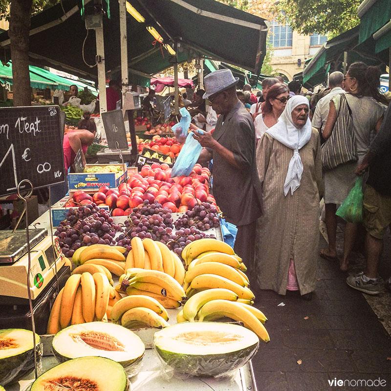 Marseille, marché de Noailles