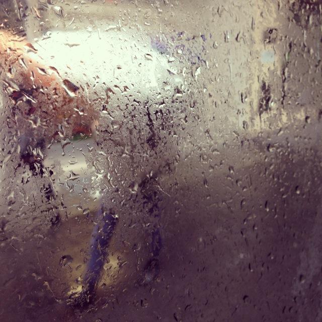 Lausanne sous la pluie