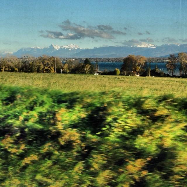 Quelque part entre Lausanne et Genève