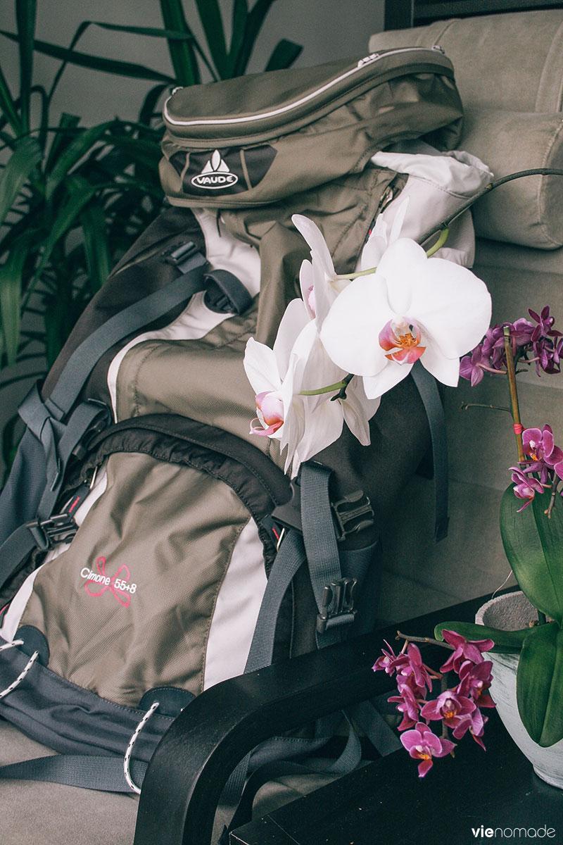 Sac à dos ou valise pour un tour du monde ou la vie nomade?