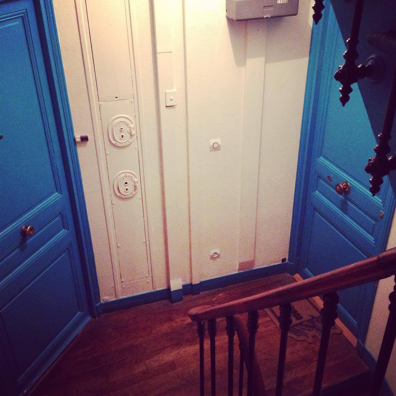 Appartement typique parisien