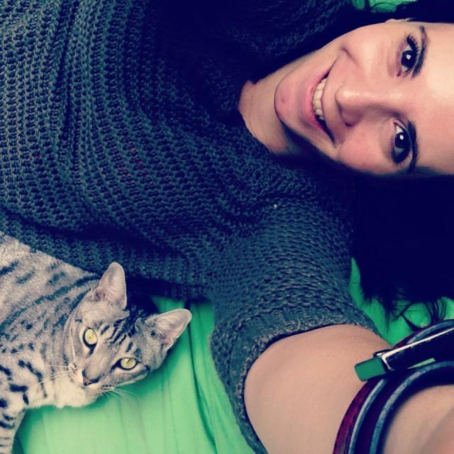 Cat-sitting FuShin