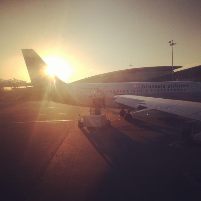 Avion à Bruxelles