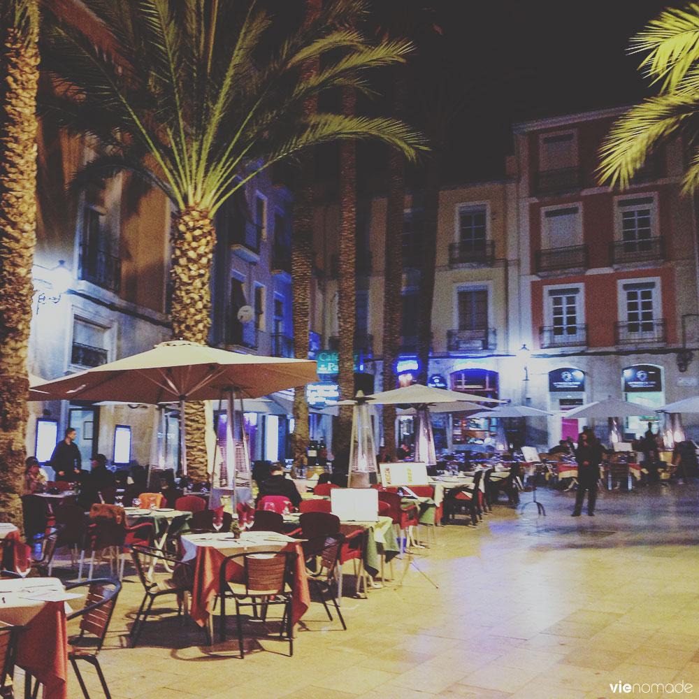 Petite place à Alicante