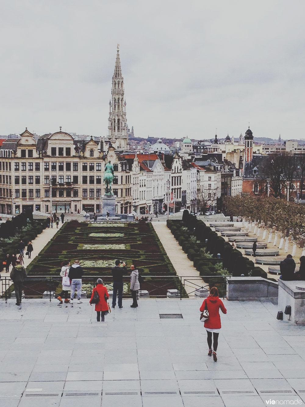 Jardin du Mont des Arts, Bruxelles
