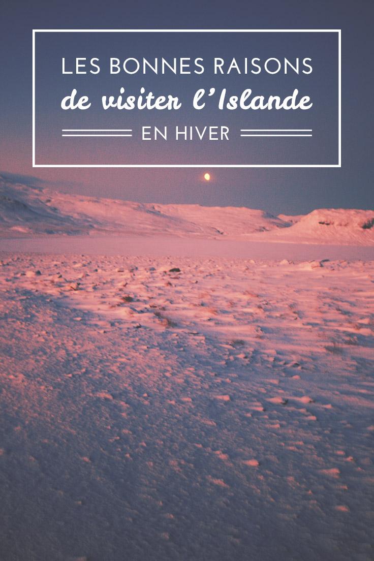 Température islande janvier
