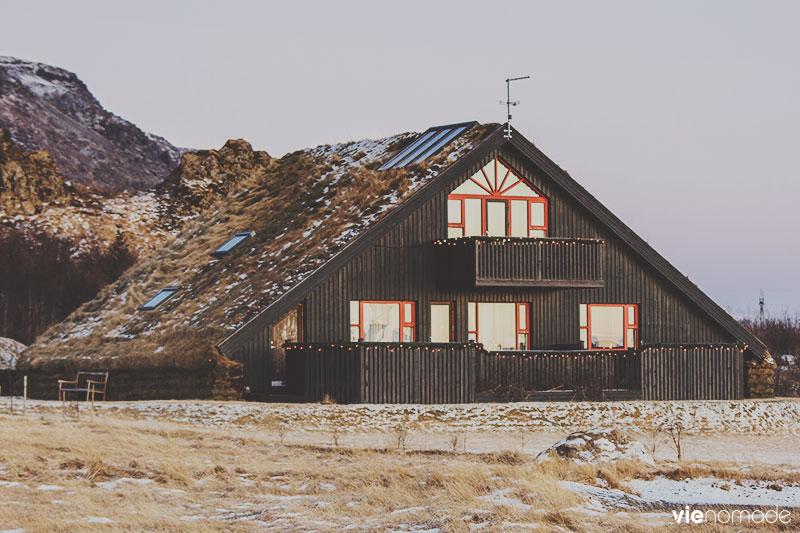 Sur les routes d'Islande, en hiver