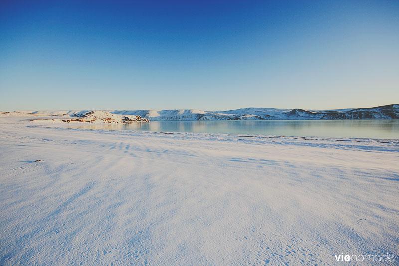 Kleifarvatn, Islande