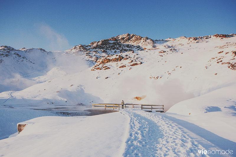 Seltun, site géothermique en Islande