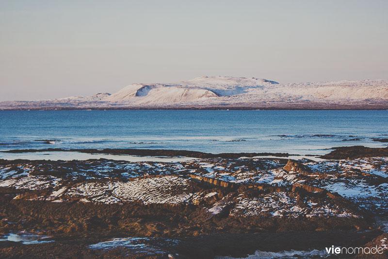 Autour de Strandarkirkja, Islande