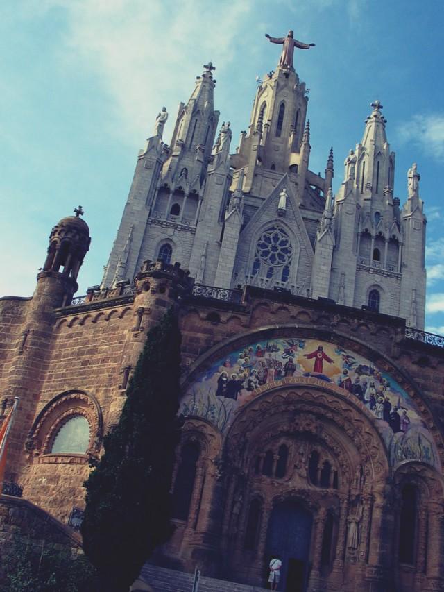 Tibidabo, Barcelone