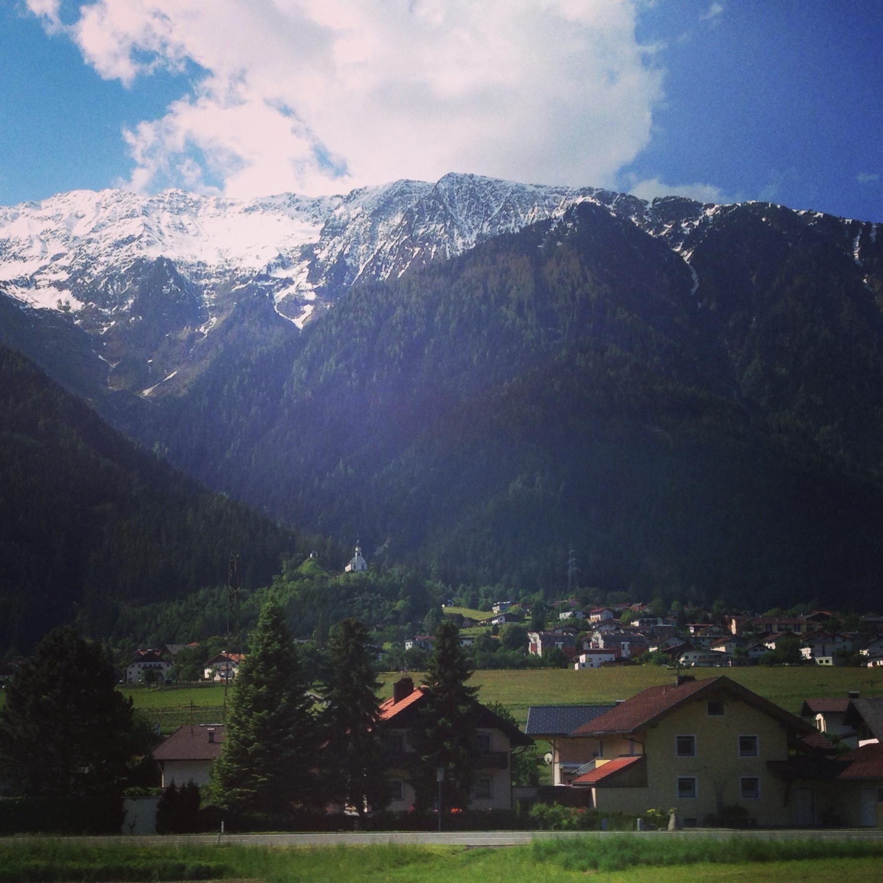 Autriche, dans un train
