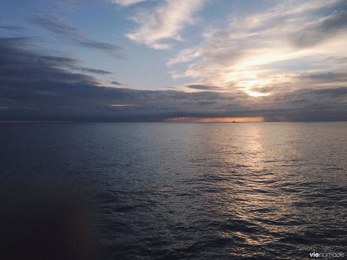 Ferry de Larvik à Hirtshals