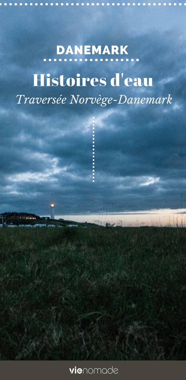Ferry de la Norvège au Danemark (Larvik - Hirtshals)